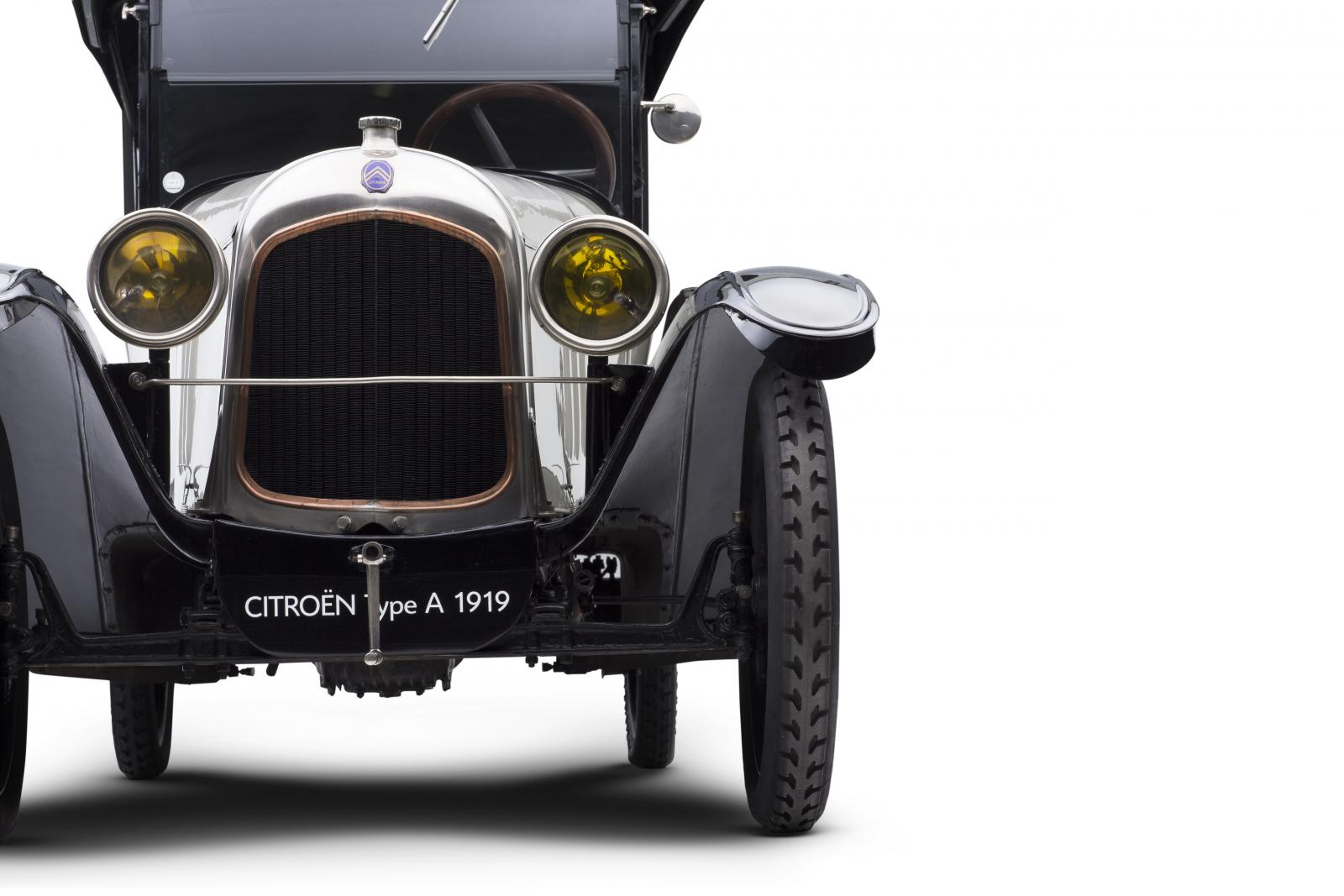 Citroën 10 HP Type A - face avant